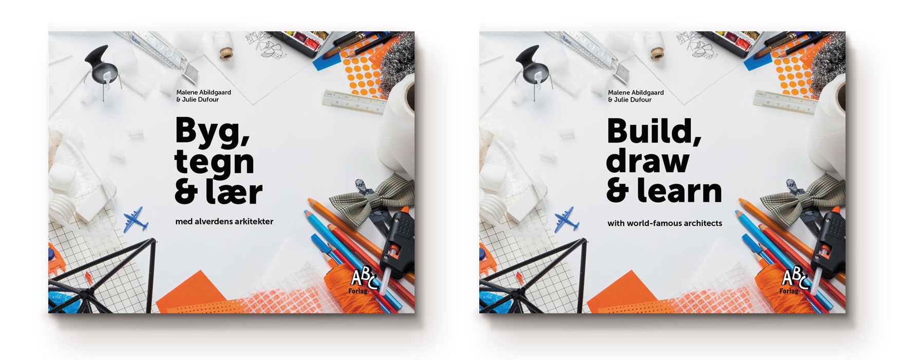 Build, draw & learn – book – MyLittleArchitect